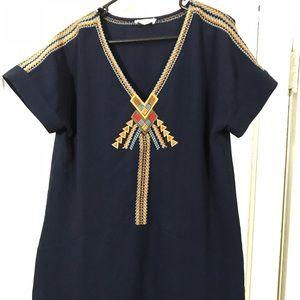 Sugar lipz beautiful embroidered dress!